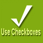 Use check boxes in Windows Vista and Widnows 7