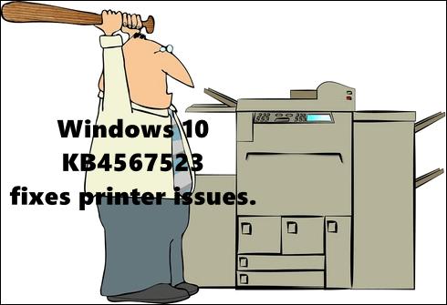 Windows 10 Printer Problems